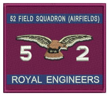 52 Fld Sqn Airfield Embroidered Badge
